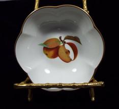 "Royal Worcester Evesham Gold Porcelain 4 1/2"" Melon Bowl with Scalloped ... - $49.99"