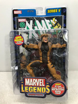 "Marvel Legends Sabretooth 6"" Action Figure Series V - ToyBiz 2003 FS - $29.02"