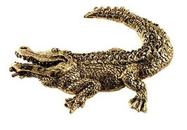 Creative Pewter Designs, Alligator Magnet, 24k Gold Plated, AG071PRM - €22,21 EUR