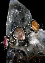 Vintage Boho Style Bracelet Cosmic Glass Beads - $24.74