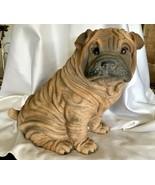 1985 Universal Statuary Corp 474 - Shar Pei Puppy Dog Sculpture - $45.00