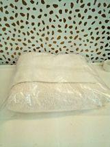 FIELDCREST 2Pc  Towel Set 100%Cotton 1 HAND Towel & 1 Washcloth -ALMOND CREAM- image 5