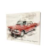 1964 Chevrolet Corvair Monza Spyder Art Design 16x20 Aluminum Wall Art - $59.35