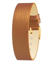 Moog Paris Full Grain Copper Calf Leather Bracelet for Women, Pin Clasp,... - $46.65