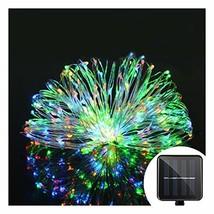 Aluvee Solar String Copper Wire Light,50ft/150LED Outdoor Waterproof Gar... - $14.16