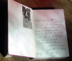 Jack London - LOST FACE 1st/2nd inscr. to Bluett -  To Build A Fire- 191... - $735.00