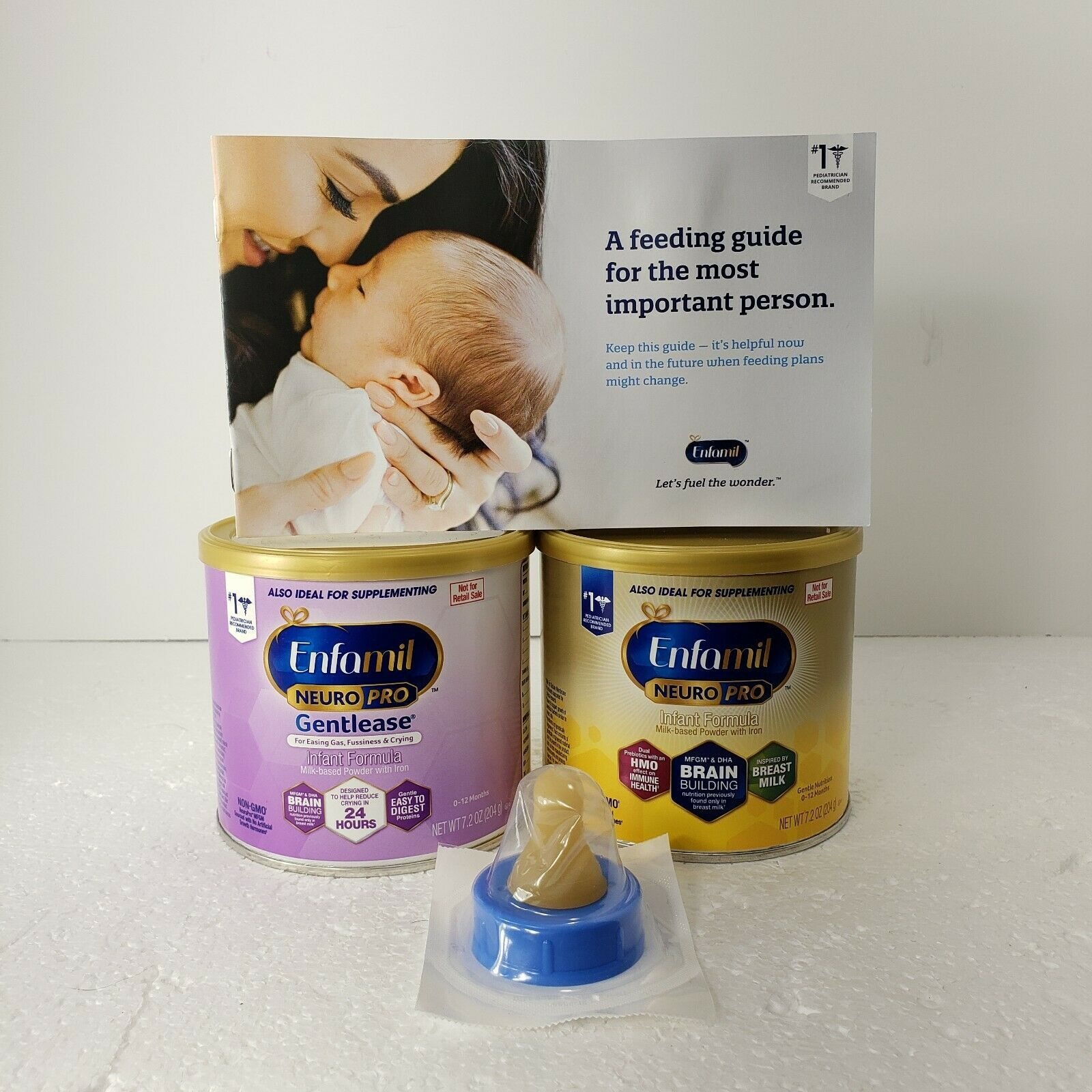 Primary image for Enfamil NeuroPro Infant 0-12 months Formula 2-Pack Gentlease EXP 2022