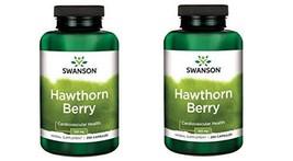 Swanson Premium Hawthorn Berries 565 mg -- 2 Bottles each of 250 Capsules by Swa - $24.70