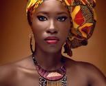 Wangisi kente african head tie