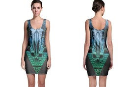 Trippy Illuminati Women's Sleevless Bodycon Dress - $21.80+