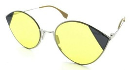 Fendi Sunglasses FF 0341/S B1ZHO 60-22-140 Silver Gold / Yellow Made in ... - $98.49