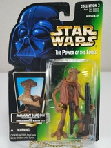 Star Wars Power Of The Force Momaw Nadon / Hammerhead (Green Card) - Kenner 1996 - $8.00