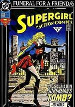 Funeral for a Friend Comic Book (Supergirl in Action Comics #686, 6) [Comic] [Ja - $3.91