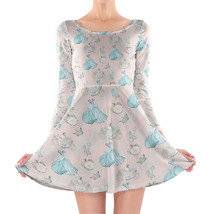 Almost Midnight Cinderella Inspired Longsleeve Skater Dress - $48.99+