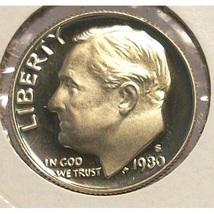 1980-S GEM DCAM Proof Roosevelt Dime PF65 #0259 - $1.99