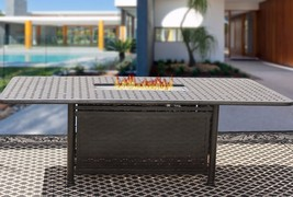 "OUTDOOR PATIO 44"" X 84"" RECTANGLE FIRE TABLE - SERIES 7000 - $2,970.00"