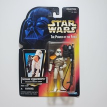 Star Wars POTF2 Red Card Tatooine Stormtrooper Action Figure - $23.75