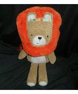 "16"" LEVTEX KIDS BABY BROWN & ORANGE LION STUFFED ANIMAL PLUSH TOY SOFT P... - $45.82"