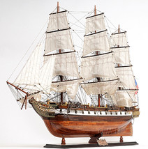 Sloop Of War USS Constellation Frigate Wooden T... - $1,719.22