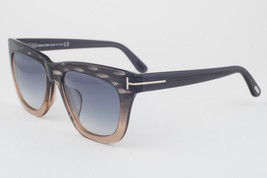 Tom Ford Anoushka Gray Peach / Gray Gradient Sunglasses TF371 20B 57mm - $175.42