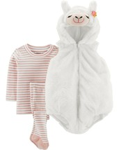 Carters Little Llama Halloween Costume Size 3/6 Months Boy or Girl 3 Pie... - £28.90 GBP