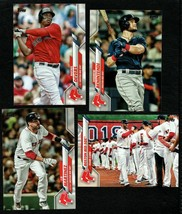 2020 Topps Boston RED SOX Team Set Both Series 1 & 2 (19 cards) - $3.00