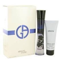 Giorgio Armani Code 2.5 Oz Eau De Parfum + Body Lotion 2.5 Oz 2 Pcs Perfume Set image 3