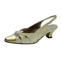 FLORAL Yelena Women's Wide Width Slingback Dress Pumps  - $39.95