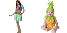 NWT Mommy & Me Hawaiian Hula Pineapple Halloween Costume 6-12 12-18 Mont... - €10,62 EUR+