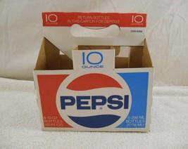 Vintage Pepsi Cardboard 6 Pack Bottle Holder Carrier (Six 10 Oz. Bottle ... - $7.91