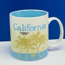 Starbucks Coffee Mug cup California redwood tree beach Limited edition S... - $28.82