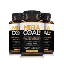 Miracoal Activated Charcoal Capsules for Detox, Weight Loss, Inflammatio... - $68.79