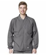 New Carhartt Men's Ripstop Zip Front Jacket in Gray in Sizes S to 3X - $49.99