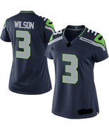Russell Wilson #3 Seahawks Mens Womens Jersey All sz Custom Embroidered ... - $59.90