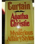 "Curtain ""The Mysterious Affair At Styles"" by Agatha Christie  - $34.99"