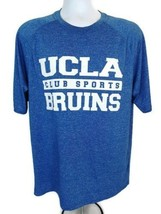 Adidas UCLA BRUINS Club Sports NCAA climalite Men's T-Shirt  Blue Slub  ... - $16.82