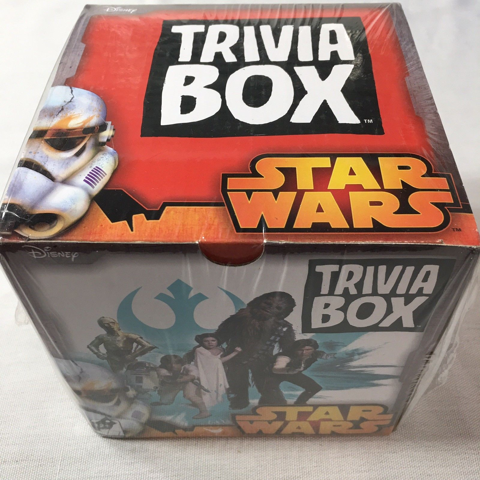 Primary image for Star Wars Trivia Box by Cardinal Classic Trivia Game DISNEY New