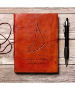 Capricorn Zodiac Handmade Leather Journal - $38.00