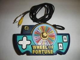 2005 Jakks Pacific WHEEL OF FORTUNE Plug & Play TV Handheld Video Game W... - $15.20