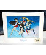 Sailor Moon Art print anime chroma Cel Sailor Team Jupiter Mars Mercury ... - $14.99