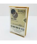 Vintage Scotch Cassette Tapes Cobalt S-C-90HE High Energy Posi-trak 90mi... - $15.95