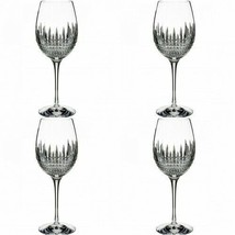 Waterford Lismore Diamond Essence Goblet 4 Goblets Glasses New # 40002014 - $297.00