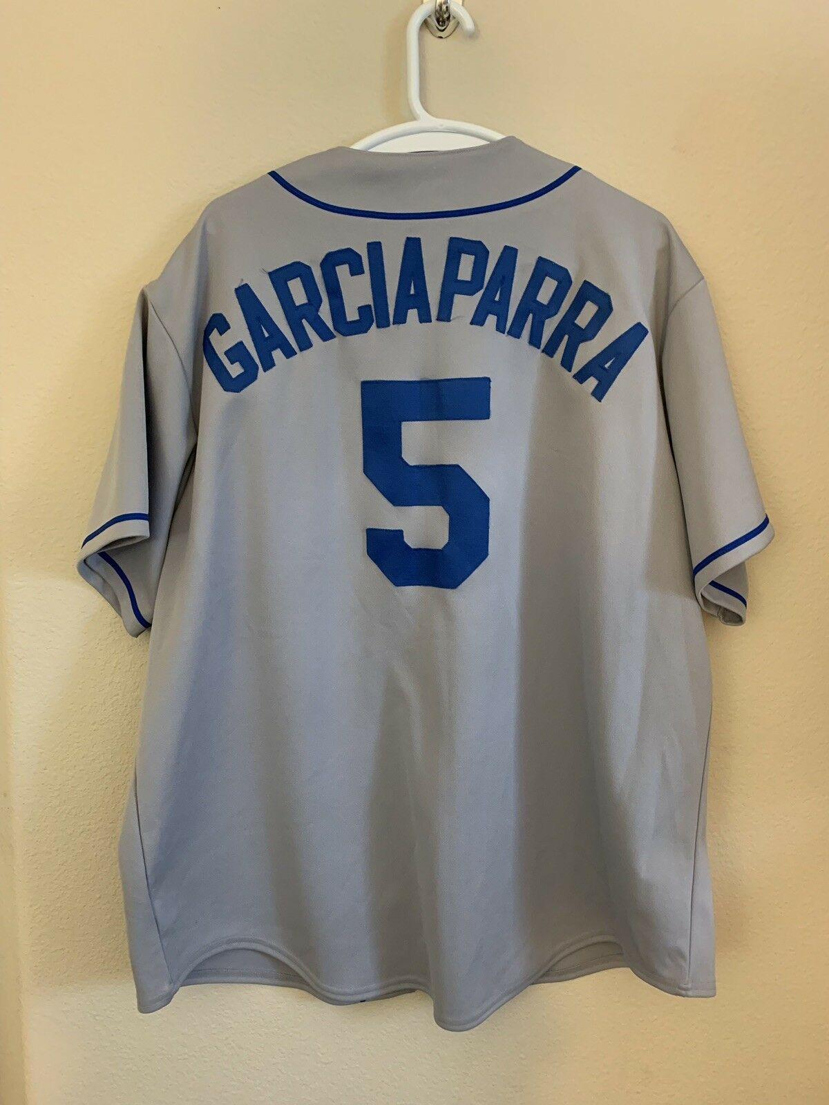 2c7a41d6ff9 S l1600. S l1600. Previous. LA Dodgers Geniune merchandise majestic garciaparra  jersey  5 2xl