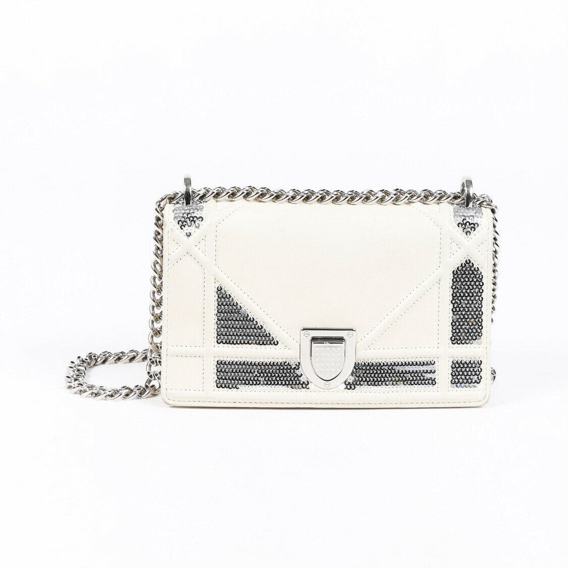 Christian Dior Mini Diorama Sequin Shoulder Bag - $735.00