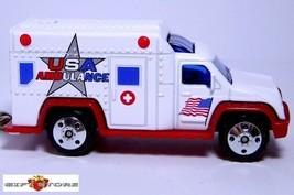 KEY CHAIN USA PARAMEDIC AMBULANCE EMT MEDIC RESCUE US FLAG NEW LIMITED E... - $28.98
