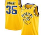 Golden State Warriors #35 Kevin Durant Gold Swingman Jersey - ₹3,062.11 INR