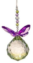 Crystal Expressions Acrylic 5.5 Inch Facet Ball Butterfly Ornament/ Sun-... - €8,50 EUR