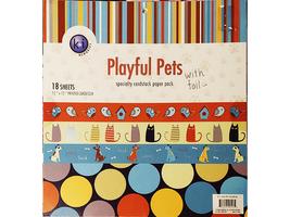 KI Memories Playful Pets Specialty Cardstock Paper Pad #9513