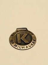 Vintage Watch Fob - Koehring Machine Company, Milwaukee WI - $15.00