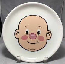 "Fred MR. FOOD FACE Kids'  8-1/2"" Ceramic  Dinner / Decorative whimsical ... - $5.40"